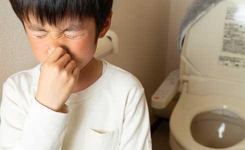 トイレが臭い!