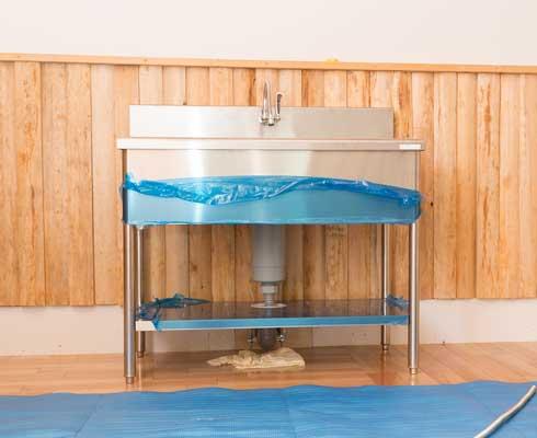 二層式シンク・手洗い器