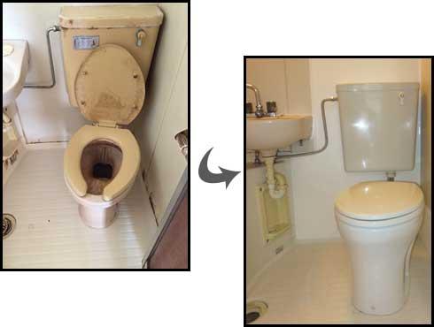 トイレ交換・トイレリフォーム