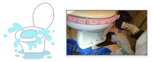 トイレの水もれ修理