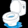 トイレの水を流すと便器の水があふれそうになる対処法