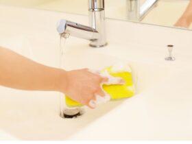 洗面台の排水口のつまり