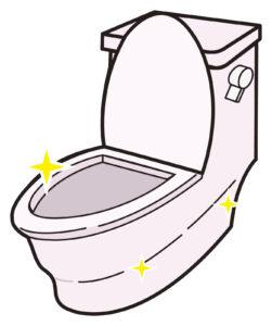トイレ臭い対策クリーニング