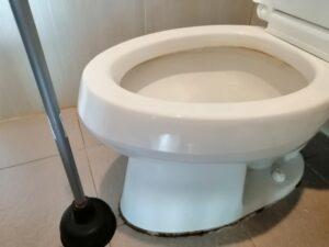 豊島区要町,トイレつまり