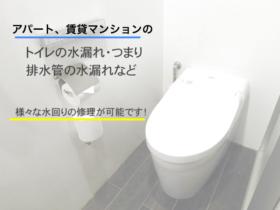 川越市,トイレの水漏れ修理